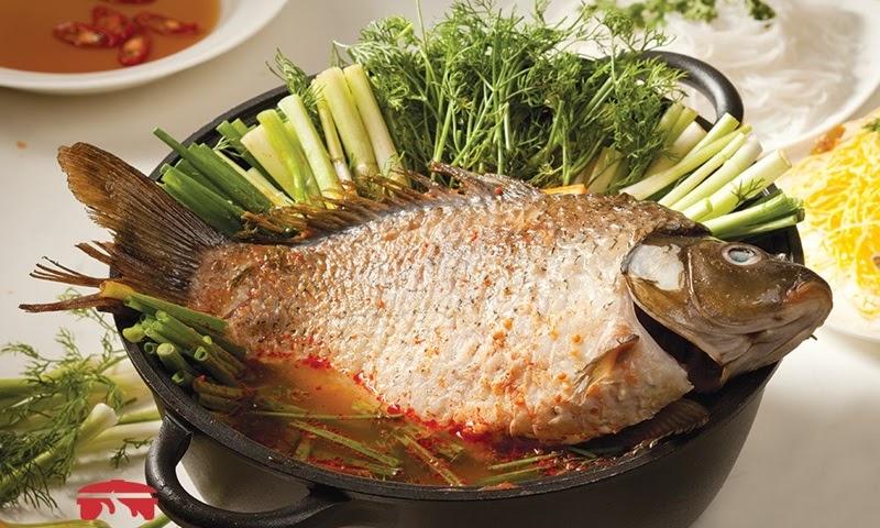 Cá chép có thể làm thành nhiều món ăn ngon và bổ dưỡng