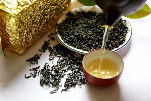 Trà xanh – một trong các loại trà để pha trà sữa phổ biến nhất